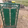 sheep weigh box and scales