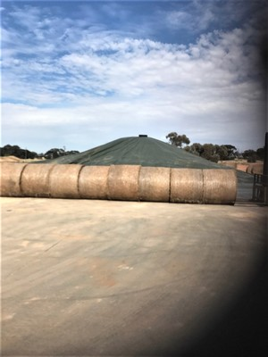 GRAIN BUNKER TARP - BRAND NEW - 42M X 20M AUSSIE MADE QUALITY
