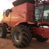 2012 Case IH 8230 Header Harvester For Sale  with 40ft 2052 front