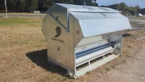 3000lt grain lick feeder for livestock