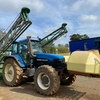 NH  TM 150 with goldacres sprayer