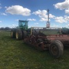 John Deere 9520 Tractor & 12Ft Alfarm Laser Bucket For Sale