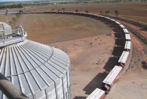 6228 Tonnes of Grain head North in record Grain Train haul