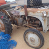 Grey Fergy Tractor