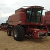 CASE IH 2166 HEADER / HARVESTER FOR SALE With 30FT 1010 Front on Leith Trailer - Come see Running!
