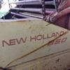 New holland round baler