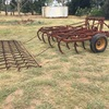Horwood  Bagshaw 19 Tyne scarifier with trailing harrows
