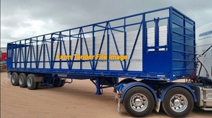 40  -45 Ft Single deck Stock Crate