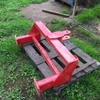 Rear pull for Duncan seeders