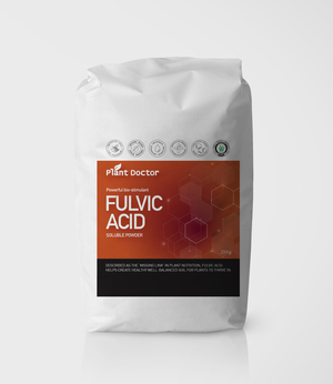 Fulvic Acid Powder 92% - Premium, Concentrated & Soluble - Certified OMRI organic 25kg bag- FREE DELIVERY AUSTRALIA WIDE