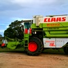 Claas dominator 116 30ft front and canola pick up