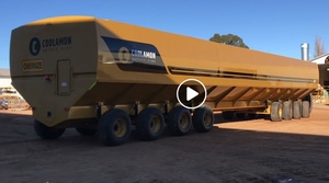 Video - Coolamon rolls out a 200/mt Mother Bin