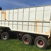 Farm Tipping Trailer, Bogie Axel, 6.6m Long, 2.4m Wide.