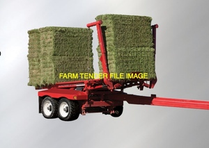 Square Hay Bale Stacker Contractor Available asap for Southern NSW and VIC with Pro AG Stacker