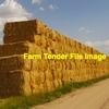 Windrowed Wheaten Straw 8x4x3 Bales