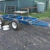Under Auction - Tri Axle Plant Trailer - 2% Buyers Premium on all lots
