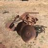 Old 3PL 2 Disc Plough