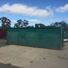Under Auction - 25 Cubic Meter -  Skip Bin - with opening Tail gates - 2% Buyers Premium on all lots