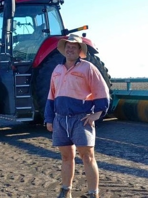 Brett Corish wins the Cotton Australia Grower of the year