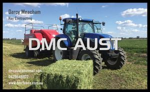 DMC AUST Hay Contracting and Cartage