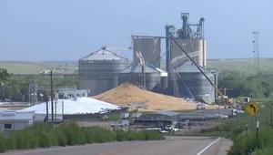 Grain Bin collapses in Nebraska US