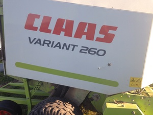 Claas Variant 260 Round Baler