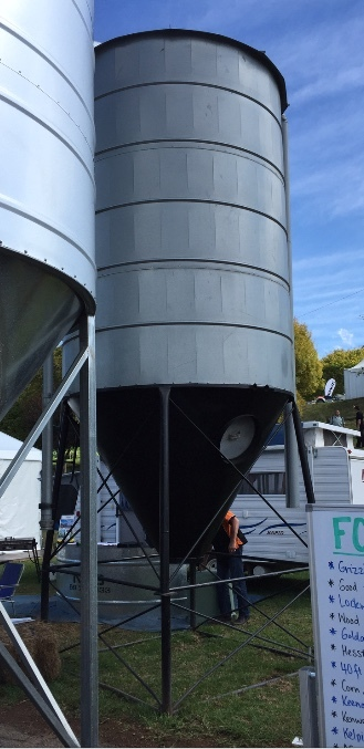 10mt reconditioned pellet silo for sale machinery equipment. Black Bedroom Furniture Sets. Home Design Ideas