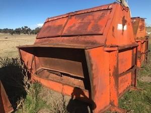 Under Auction (A131) - Allbulk Cattle Feeder - 2% + GST Buyers Premium On All Lots