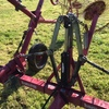 10 Wheel carted V Rake Tonutti