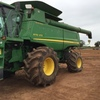 John Deere 9770 STS 4WD Rice Header with 640D Front