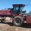 Case 8880 self propelled unit with a 25' Agware draper front and 16' mower conditioner