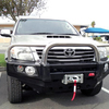 MCC 4x4 707-01 triple hoop bull bar with underplate suit hilux 2012-on