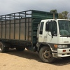 1997 Hino Tray Truck with stock crate