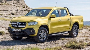 The Covers are off the New Mercedes Ute - Aussies register interest in the thousands