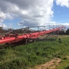 2015 16 inch 125 foot Wheat Heart Auger