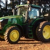 John Deere 7200 R Tractor with all the Fruit For Sale