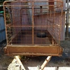 5 x 8 Box Trailer with Crate For Sale with Crate and Spare Tyre