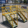 Work Platform with Hand Railing and 2 x Stair Sections