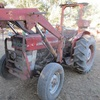 Massey Ferguson 148 Tractor With Front End Loader