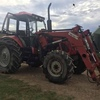 Belarus 1221 Fitted with McCormick FEL