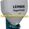LEHNER SuperVario 170 Spreader.
