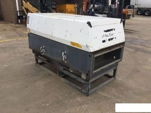 Skid mounted Atlas Copco XAS 185 cfm diesel portable air compressor