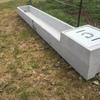 16ft concrete sheep troughs 833 Litres