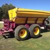 SAM Super Spreader (Tractor Drawn Bulk Topdresser) 8 tonne