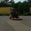 Grain Sweeper for forklift  telehandler  Bobcat