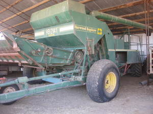 Horwood Bagshaw 2141 Harvester, PTO, 6m comb front