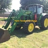 John Deere 6630 Tractor with FEL