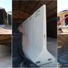 PORTABLE AG-CRETE CONCRETE DIVIDER RETAINING WALL 2.4m HIGH - AGCRETE