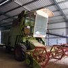 Claas Mercator 5 D Header With 12 Ft Front