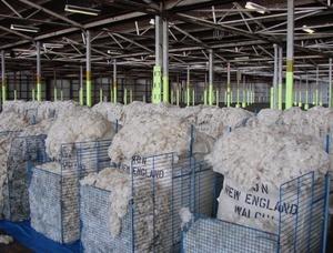 Wool Market down